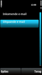 Nokia X6-00 - e-mail - handmatig instellen - stap 25