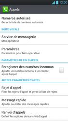 LG P880 Optimus 4X HD - Messagerie vocale - Configuration manuelle - Étape 5