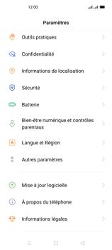 Oppo Reno 4Z - Aller plus loin - Mettre à jour le logiciel interne de votre mobile - Étape 5