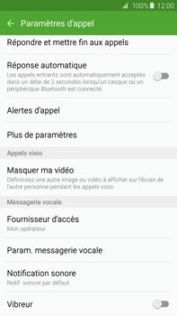 Samsung G928F Galaxy S6 Edge + - Messagerie vocale - Configuration manuelle - Étape 6