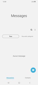 Samsung Galaxy S20 Ultra - Contact, Appels, SMS/MMS - Envoyer un SMS - Étape 4