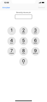 Apple iPhone XR - Beveiliging - Stel de pincode voor je simkaart in - Stap 10