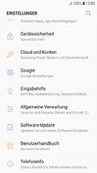 Samsung Galaxy J3 (2017) - Gerät - Zurücksetzen auf die Werkseinstellungen - Schritt 4
