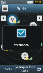 Samsung S8000 Jet - WLAN - Manuelle Konfiguration - Schritt 11