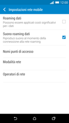 HTC One M8 - Internet e roaming dati - Configurazione manuale - Fase 6