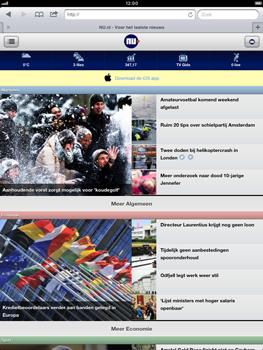 Apple iPad mini - Internet - hoe te internetten - Stap 14