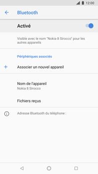 Nokia 8 Sirocco - Bluetooth - connexion Bluetooth - Étape 9