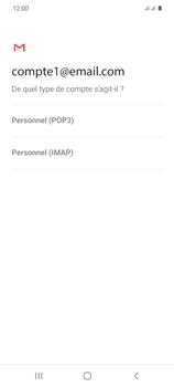 Samsung Galaxy S20 - E-mails - Ajouter ou modifier un compte e-mail - Étape 11