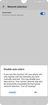 Huawei P30 - Network - Manual network selection - Step 7