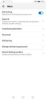 Huawei Mate 20 Pro - Voicemail - Manual configuration - Step 6