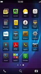 BlackBerry Z30 - voicemail - handmatig instellen - stap 3