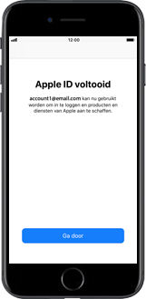 Apple iPhone 6 - iOS 12 - Applicaties - Account instellen - Stap 20