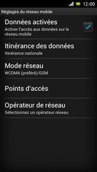 Sony ST26i Xperia J - Réseau - utilisation à l'étranger - Étape 9