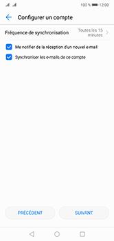 Huawei P20 Lite - E-mail - Configuration manuelle - Étape 17