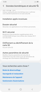 Samsung Galaxy S20+ - Sécuriser votre mobile - Personnaliser le code PIN de votre carte SIM - Étape 5