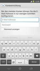 Sony Xperia Z1 Compact - E-Mail - Konto einrichten - 5 / 20