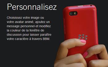 BlackBerry curve 3G - Premiers pas - Spécificités produit - Étape 6