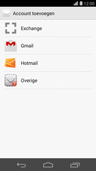 Huawei Ascend P7 - E-mail - Account instellen (POP3 zonder SMTP-verificatie) - Stap 5