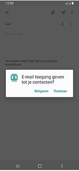 Samsung Galaxy A40 - E-mail - e-mail versturen - Stap 5