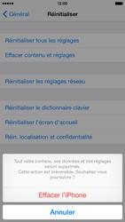 Apple iPhone 6 iOS 8 - Aller plus loin - Restaurer les paramètres d'usines - Étape 7