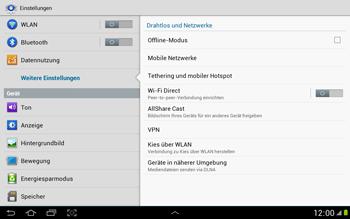 Samsung Galaxy Note 10-1 - MMS - Manuelle Konfiguration - 1 / 1