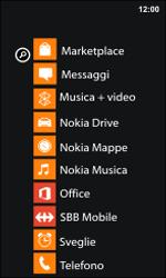 Nokia Lumia 800 / Lumia 900 - Applicazioni - Configurazione del negozio applicazioni - Fase 3