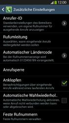 Samsung Galaxy S4 Active - Anrufe - Rufumleitungen setzen und löschen - 7 / 12