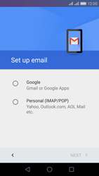 Huawei Honor 5X - E-mail - Manual configuration (gmail) - Step 7