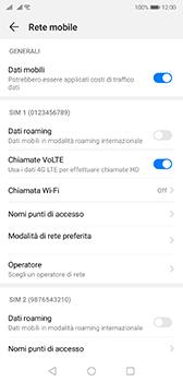 Huawei P20 - Android Pie - WiFi - Attivare WiFi Calling - Fase 6
