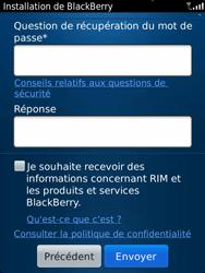 BlackBerry 9810 Torch - BlackBerry activation - BlackBerry ID activation - Étape 10