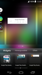 Wiko Highway Pure - Startanleitung - Installieren von Widgets und Apps auf der Startseite - Schritt 6