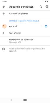 Google Pixel 3a - Internet et connexion - Connexion avec un équipement multimédia via Bluetooth - Étape 9