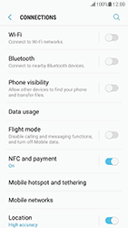 Samsung G930 Galaxy S7 - Android Nougat - Internet - Disable mobile data - Step 5