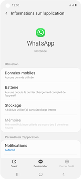 Samsung Galaxy A21s - Applications - Supprimer une application - Étape 6