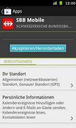 Samsung Galaxy S Advance - Apps - Installieren von Apps - Schritt 22