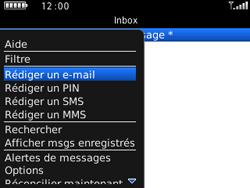 BlackBerry curve 3G - E-mails - Envoyer un e-mail - Étape 5