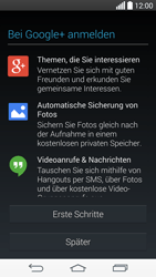 LG D722 G3 S - Apps - Konto anlegen und einrichten - Schritt 19