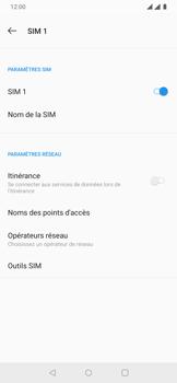 OnePlus 7 - Aller plus loin - Désactiver les données à l'étranger - Étape 8