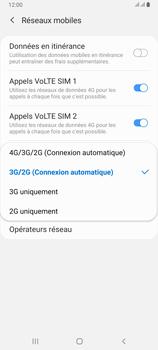 Samsung Galaxy A80 - Internet et connexion - Activer la 4G - Étape 7