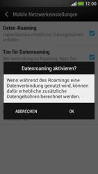 HTC Desire 601 - Ausland - Im Ausland surfen – Datenroaming - Schritt 8