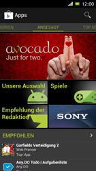 Sony Xperia J - Apps - Konto anlegen und einrichten - 2 / 2