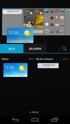 Huawei Ascend P6 - Startanleitung - Installieren von Widgets und Apps auf der Startseite - Schritt 6