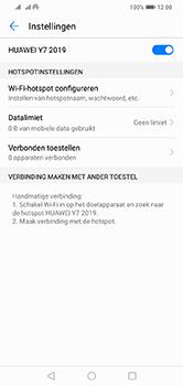 Huawei Y7 (2019) - Internet - mijn data verbinding delen - Stap 10
