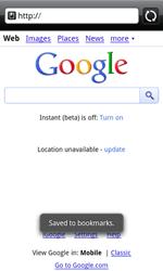HTC A7272 Desire Z - Internet - Internet browsing - Step 8