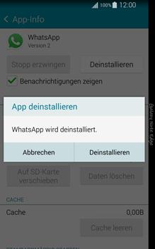 Samsung Galaxy Note Edge - Apps - Eine App deinstallieren - Schritt 7