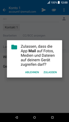 HTC One M9 - E-Mail - E-Mail versenden - 1 / 1