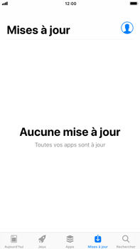 Apple iPhone 6 Plus - iOS 11 - Applications - Comment vérifier les mises à jour des applications - Étape 4
