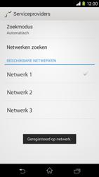 Sony Xperia M2 - netwerk en bereik - gebruik in binnen- en buitenland - stap 10