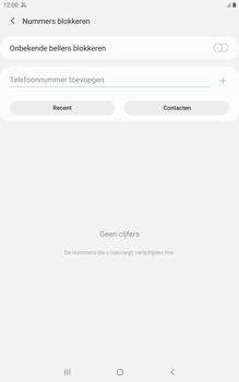 Samsung galaxy-tab-a-8-0-lte-2019-sm-t295 - Beveiliging en ouderlijk toezicht - Nummer blokkeren - Stap 8