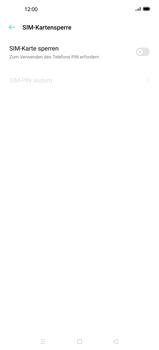 Oppo Find X2 - Startanleitung - So aktivieren Sie eine SIM-PIN - Schritt 6